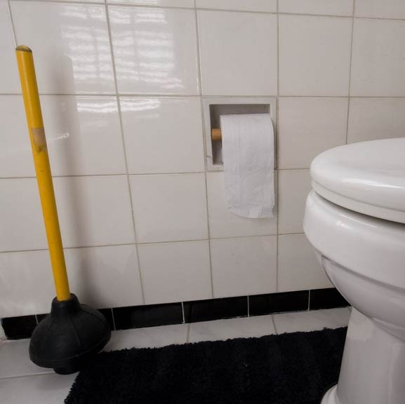 unclogging your toilet and bathroom drains